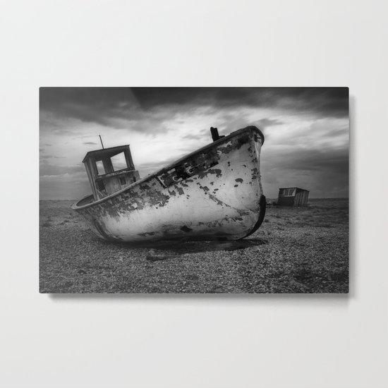 The Trawler Metal Print