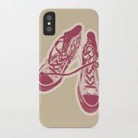 converse iPhone & iPod Cases featuring Converse by Enrique Parra Aldama
