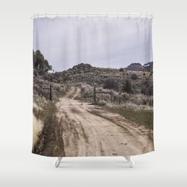 Gated Road Shower Curtain