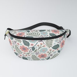 Blush Blooms Fanny Pack