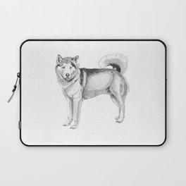 Alaskan malamute Laptop Sleeve