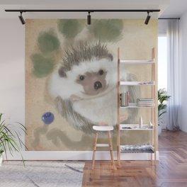 Hedgehog Hangout Wall Mural