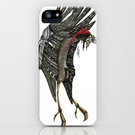 Steampunk Stork iPhone Case