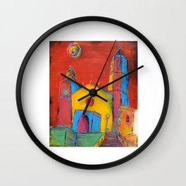 Sitges Church Wall Clock