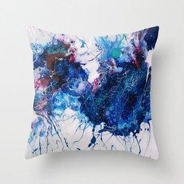 Vibrant Splash Throw Pillow