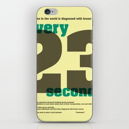 Every 23 seconds iPhone Skin