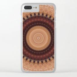 Recreational Maylanta Mandala 116 Clear iPhone Case