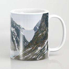 Arctic glacier scene Coffee Mug