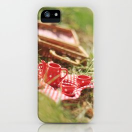 riverside teaparty iPhone Case