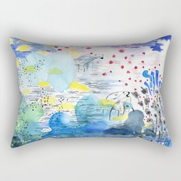 They lived lives no one had dreamt of Rectangular Pillow