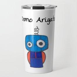 Domo Arigato Mr. Roboto Travel Mug