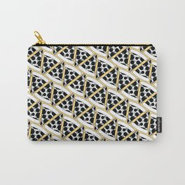 Pizza Pattern (Orange) Carry-All Pouch