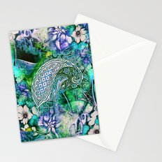 blue india Stationery Cards