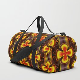 Pattern of friendship ... Duffle Bag