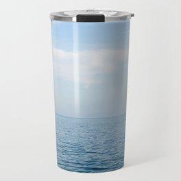 Sail Blue Sea Travel Mug