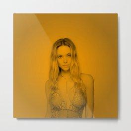 Hannah ferguson (Zoom Pose) Metal Print