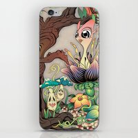 jungle iPhone & iPod Skins featuring JUNGLE by GEEKY CREATOR