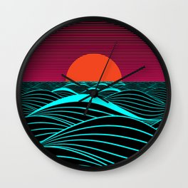 Don't let the sun go down on me Wall Clock