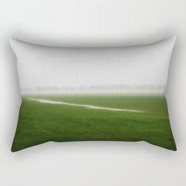 Foggy Landscape - JUSTART © Rectangular Pillow