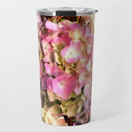 Hydrangea Sunlight Travel Mug