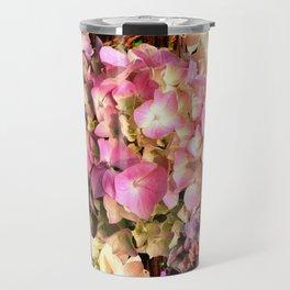 Hydrangea Sunlight Travel Mug