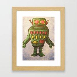 Robot Dream 2 Framed Art Print