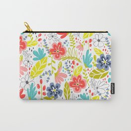Wildflower Carry-All Pouch