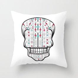 Skull #1 Throw Pillow