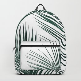 Tropical Palm Leaves #2 #botanical #decor #art #society6 Backpack