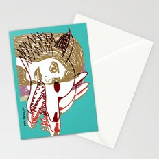 Triple She Wolf Stationery Cards