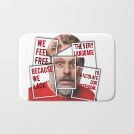 The Real of S.Zizek Bath Mat