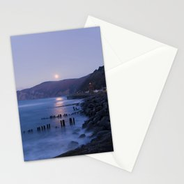 Lynmouth Moonrise Stationery Cards
