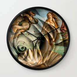 Venus Rose Wall Clock
