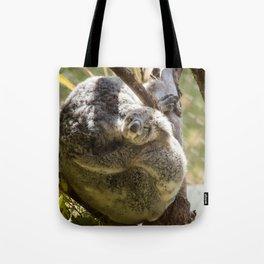 Mama and Baby Koala Bear Tote Bag