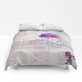 Enjoy the Rain Comforters