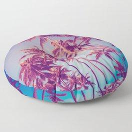 Palm Trees Floor Pillow