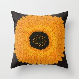 Imaginary Gold Throw Pillow