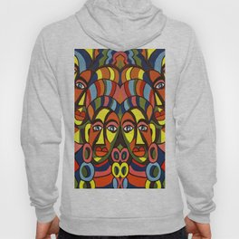 African colors Hoody