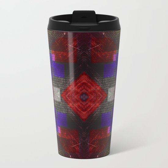 Rose-tinted Metal Travel Mug