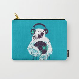 Record Bear Carry-All Pouch
