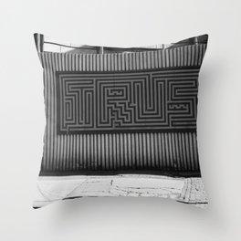 DUMBO Brooklyn Throw Pillow