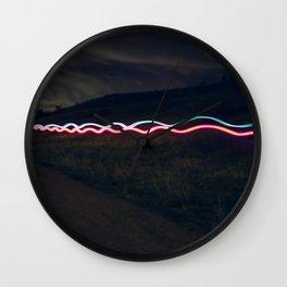 Trail Lights Wall Clock