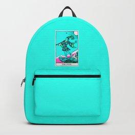 0. The Fool- Neon Dreams Tarot Backpack