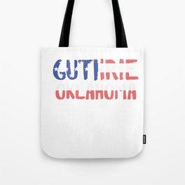 Guthrie Oklahoma Tote Bag