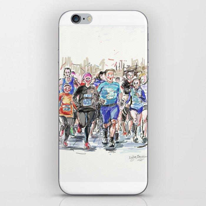 Runners Jogging iPhone Skin