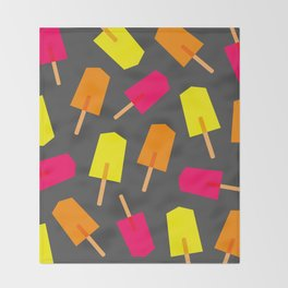 Ice Lollies 02 Throw Blanket