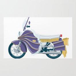Batgirl's bike Rug