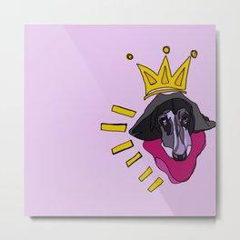 Basquiat Hound Metal Print