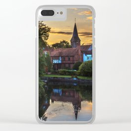 Early Evening Whitchurch on Thames Clear iPhone Case