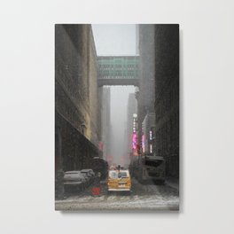 Snow Empire - NYC Metal Print